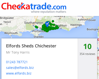 Elfords sheds Chichester bumper summer and still top customer service
