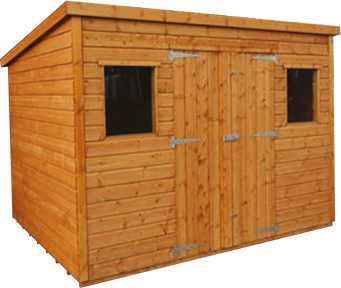 Sussex Pent Roof Workshop